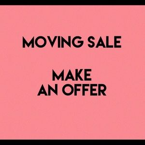MAKE AN OFFER! MOVING SALE!🎉